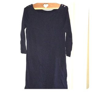 Tory Burch navy T-shirt dress